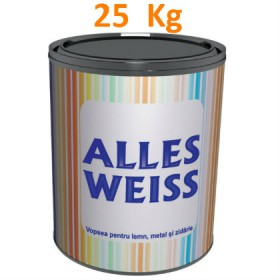 National Paints ALLES WEISS Vopsea alchidica superlucioasa 25 kg